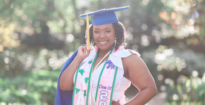 Kym Johnson Grad Photo