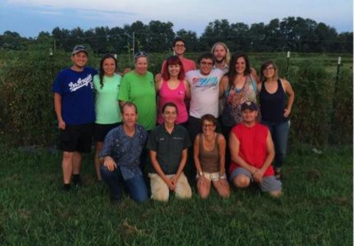 Sustainable Agriculture group photo